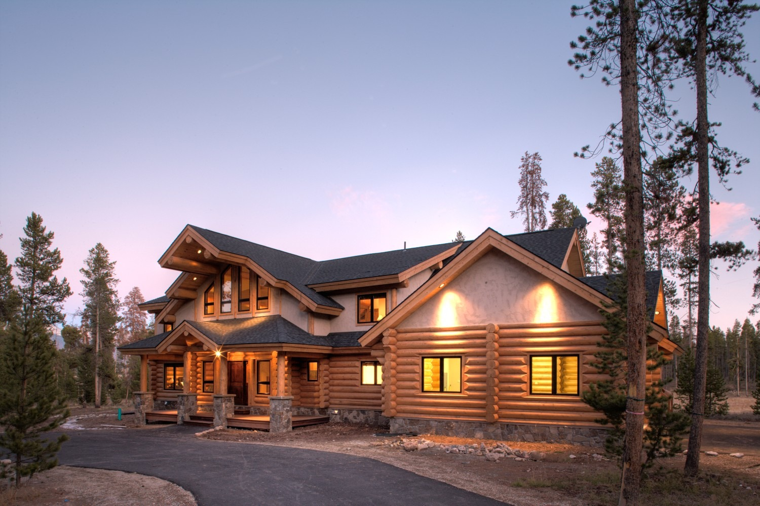 Custom Log Home - Winter Park, Colorado